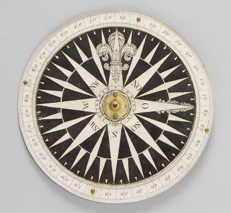antique compass photo