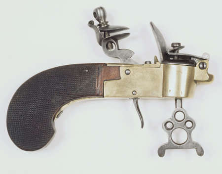 antique pistol
