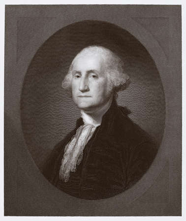 Portrait of George Washington Banco de Imagens