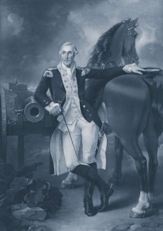 george washington: Retrato de George Washington