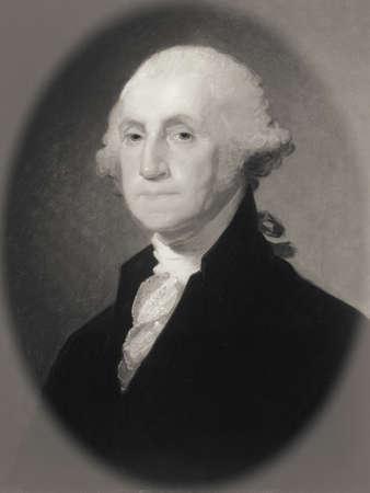 statesman: Portrait of George Washington Stock Photo
