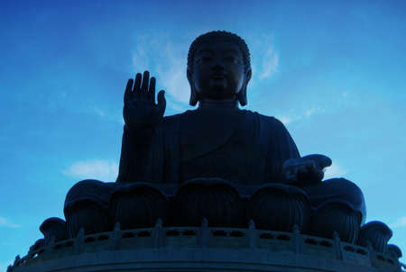 lantau: Grande Buddha a Lantau Island, Hong Kong