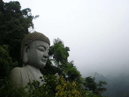 Big Buddha at Temple photo