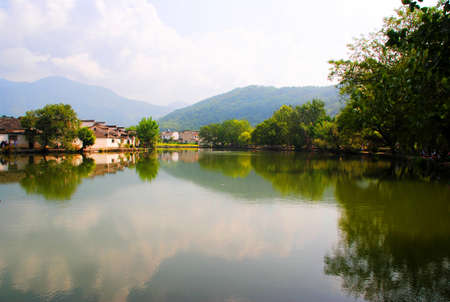 Hongchun village, China culture scenery Stock Photo