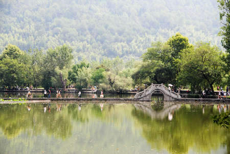 Hongchun village, China culture scenery photo