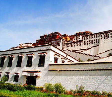potala: Potala temple Stock Photo