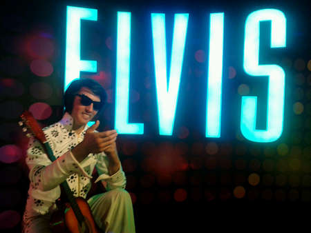 elvis: Elvis Presley at wax museum