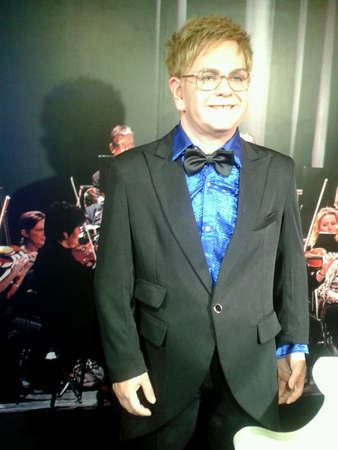 Elton John at wax museum