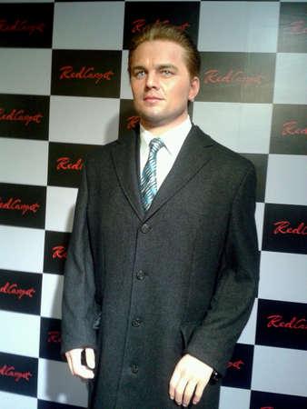 Leonardo DiCaprio at wax museum