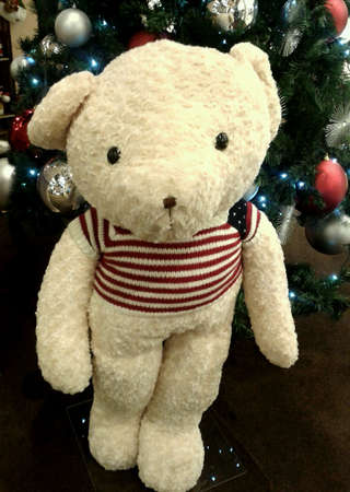 Christmas bear Stock Photo