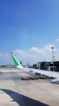 eva: EVA Aircraft at the tarmac of KLIA Airport