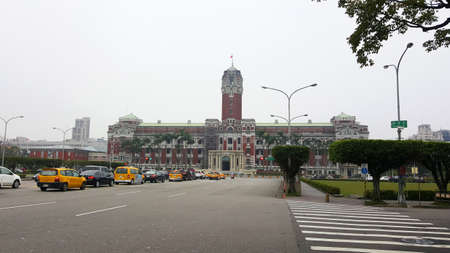TAIPEI, TAIWAN: The historic President Office Building on March 31, 2016 in Taipei, Taiwan. It is the Office of the President of the Republic of China.
