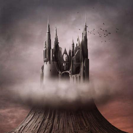 Les ruines sur la colline