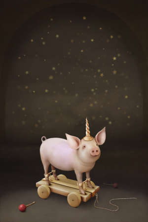 Little pig Unicorn.