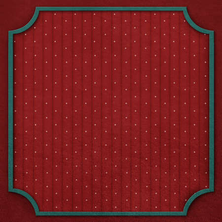 computergraphics: Square background with vintage frame and  dots   Computer-graphics