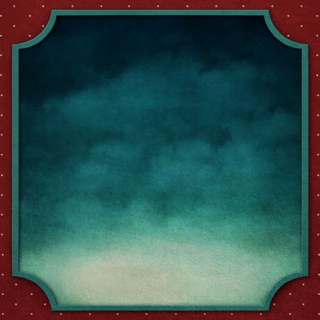 computergraphics: Square background with frame and  night sky  Computer-graphics