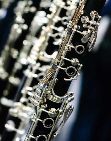 klarinet detail hoekige weergave