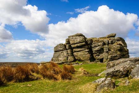 rotsformatie Dartmoor Engeland