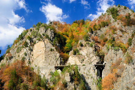 romania autumn carpathian mountains