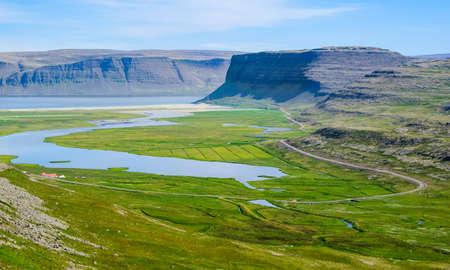 ijsland Westfjord bergen