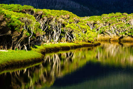 wilsons promontory: tidal river wilsons prom national park australia Stock Photo