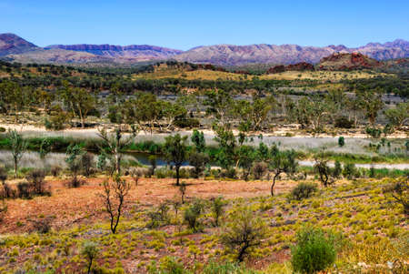 ranges: west macdonnell ranges outback australia