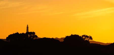 Rottnest Island vuurtoren zonsondergang australië