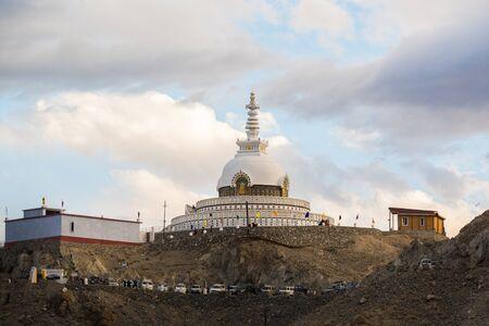shanti: Shanti Stupa Leh Ladakh.