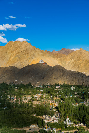 ladakh: Namgyal Tsemo MonasteryLeh Ladakh.