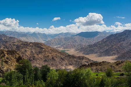 leh: Mountain Range in Leh Ladakh.