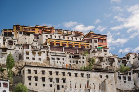 ladakh: Thiksey MonasteryLeh Ladakh. Stock Photo