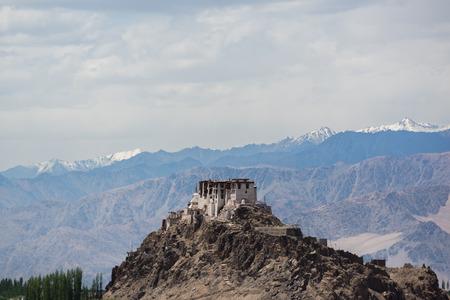 ladakh: Stakna Monastery Leh Ladakh. Stock Photo