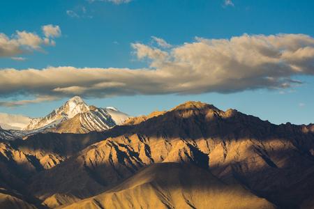 ladakh: Mountain Range in Leh Ladakh.
