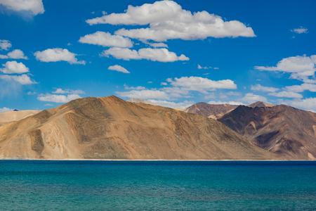 ladakh: Pangong Lake in Ladakh,India.