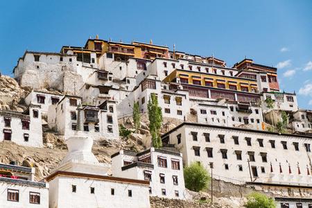 ladakh: Thiksey Monastery,Leh Ladakh.