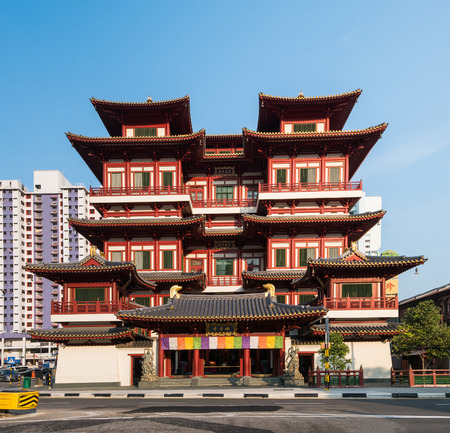 relic: Buddha Tooth Relic Temple,Singapore