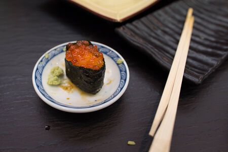 caviar: Caviar sushi Stock Photo
