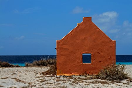 bonaire: House in Bonaire Stock Photo