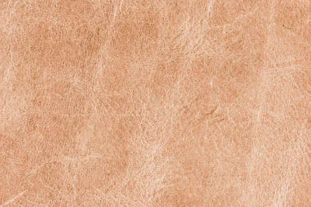 A background texture of sandy colored leather