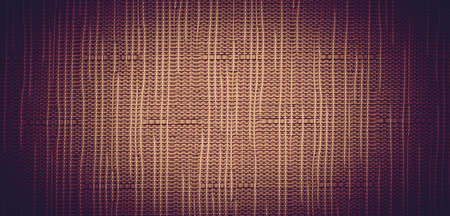 Orange brown mesh background with vignette