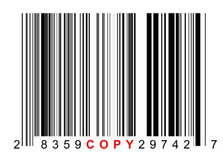 copied: Barcode for identifying all kinds of copied goods