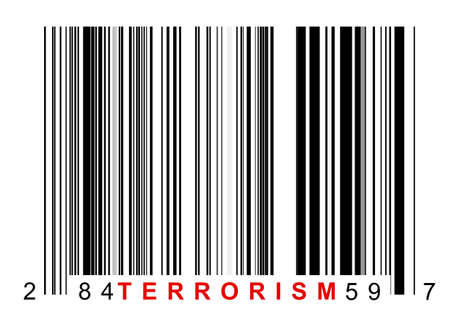 Barcode for identifying all kinds of terrorism