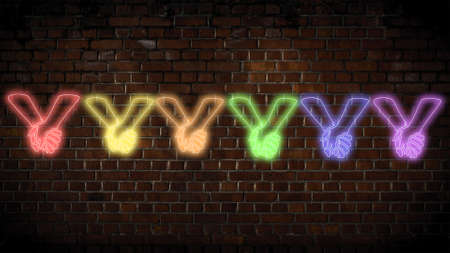 Love is love neon sign