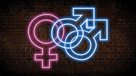 Bisexuality neon sign