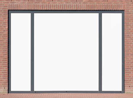 Blank advertising billboard Zdjęcie Seryjne
