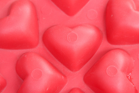 심장 모양의 배경