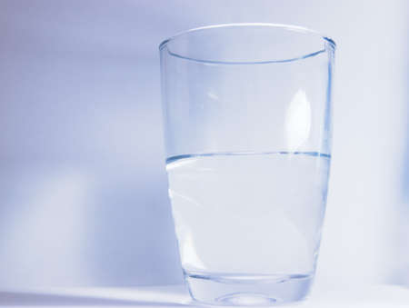purified: water glass
