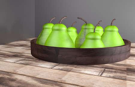 green pear Stock fotó