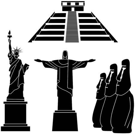 sights of the world series - America Редакционное