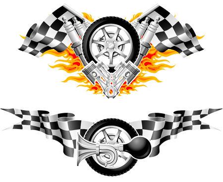 Sport Race Emblems - tweede reeks